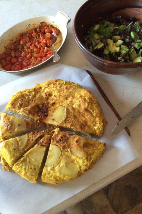 Eshun Mott's Spanish Tortilla