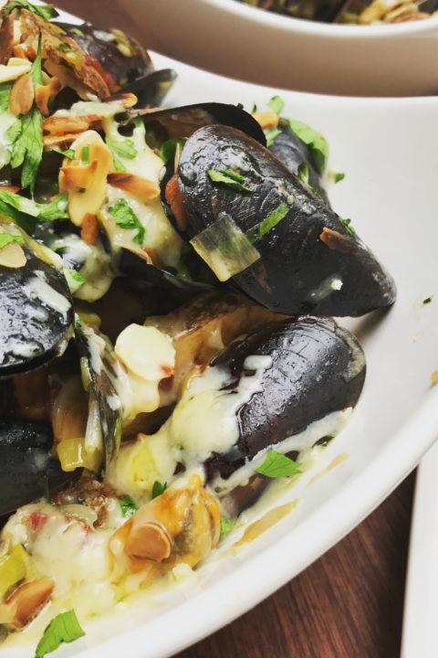 Chef Greg Argent's Moules Frites